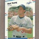 1988 Fleer Baseball Matt Young Dodgers #530