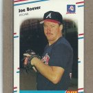 1988 Fleer Baseball Joe Boever Braves #534
