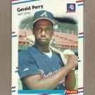1988 Fleer Baseball Gerald Perry Braves #547