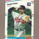 1988 Fleer Baseball Charlie Puleo Braves #548