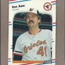 1988 Fleer Baseball Don Aase Orioles #553