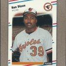 1988 Fleer Baseball Ken Dixon Orioles #557