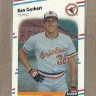 1988 Fleer Baseball Ken Gerhart Orioles #559