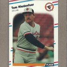 1988 Fleer Baseball Tom Niedenfuer Orioles #568