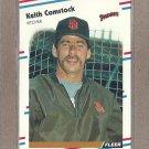 1988 Fleer Baseball Keith Comstock Padres #579