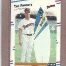 1988 Fleer Baseball Tim Flannery Padres #582