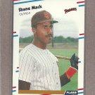 1988 Fleer Baseball Shane Mack Padres #590