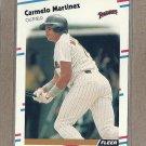 1988 Fleer Baseball Carmelo Martinez Padres #591