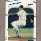 1988 Fleer Baseball Lance McCullers Padres #592