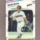 1988 Fleer Baseball Randy Ready Padres #594