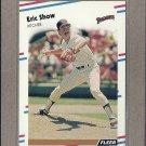 1988 Fleer Baseball Eric Show Padres #597