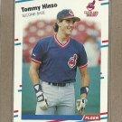 1988 Fleer Baseball Tommy Hinzo Indians #611
