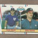 1988 Fleer Baseball Rookies Velarde & Peterson #646