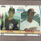 1988 Fleer Baseball Rookies King & Byers #653