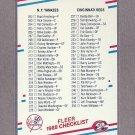 1988 Fleer Baseball Checklist #655