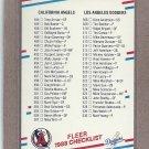 1988 Fleer Baseball Checklist #659