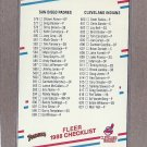 1988 Fleer Baseball Checklist #660