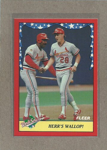 1988 Fleer Baseball World Series #7