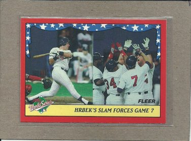 1988 Fleer Baseball World Series #9