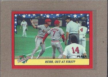 1988 Fleer Baseball World Series #10