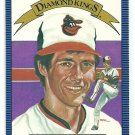 1986 Donruss Baseball Diamond King Mike Boddicker #8