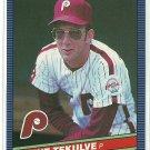 1986 Donruss Baseball Kent Tekulve Phillies #111