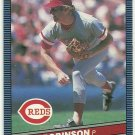 1986 Donruss Baseball Ron Robinson Reds #121