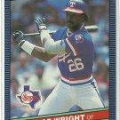 1986 Donruss Baseball George Wright Rangers #220
