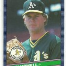 1986 Donruss Baseball Jay Howell A's #223