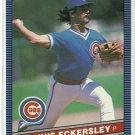 1986 Donruss Baseball Dennis Eckersley Cubs #239