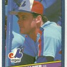 1986 Donruss Baseball David Palmer Expos #254