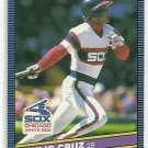 1986 Donruss Baseball Julio Cruz White Sox #257