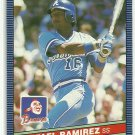 1986 Donruss Baseball Rafael Ramirez Braves #263