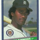 1986 Donruss Baseball Nelson Simmons Tigers #272
