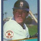 1986 Donruss Baseball Rich Gedman Red Sox #273