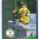 1986 Donruss Baseball Chris Codiroli A's #278