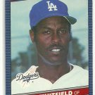 1986 Donruss Baseball Terry Whitfield Dodgers #337