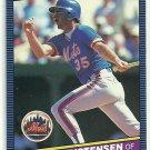 1986 Donruss Baseball John Christensen Mets #360