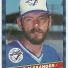 1986 Donruss Baseball Doyle Alexander Blue Jays #390