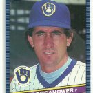 1986 Donruss Baseball Jaime Cocanower Brewers #393