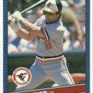 1986 Donruss Baseball Jim Dwyer Orioles #413