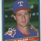 1986 Donruss Baseball Duane Walker Rangers #500
