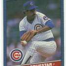 1986 Donruss Baseball Warren Brusstar Cubs #555