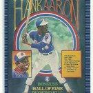 1986 Donruss Baseball Hank Aaron Puzzle Card #602