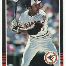 1985 Donruss Baseball John Shelby Orioles #472