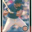 1985 Donruss Baseball Jody Davis Cubs #76
