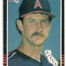 1985 Donruss Baseball Mike Witt Angels #108