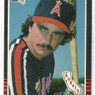 1985 Donruss Baseball Rob Wilfong Angels #402