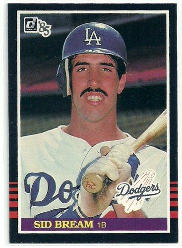 1985 Donruss Baseball Sid Bream RC Dodgers #470