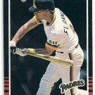 1985 Donruss Baseball Tim Flannery Padres #551